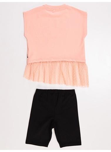 Mushi Summer Girl Kız Tunik Takım Renkli